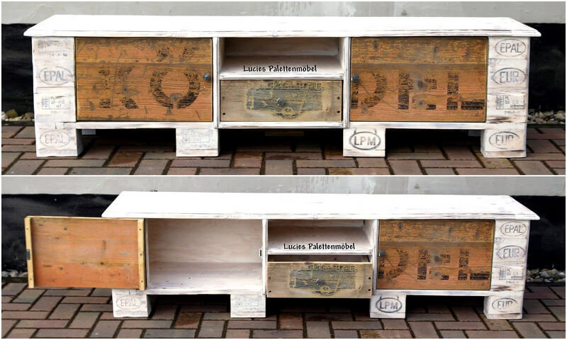 pallets rustic tv stand idea
