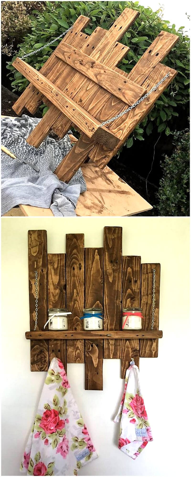 pallets shelving idea