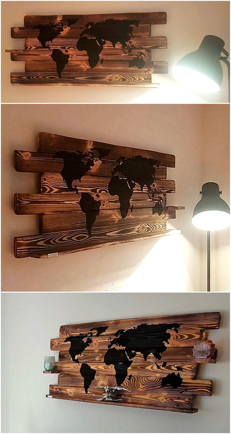 pallets wall decor art