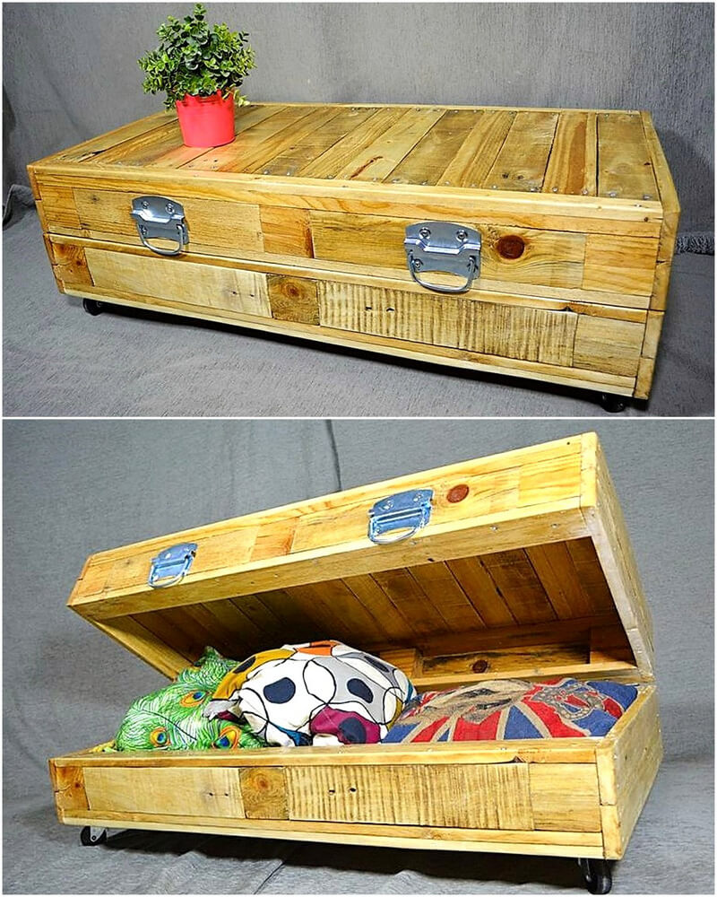 pallets wood table idea