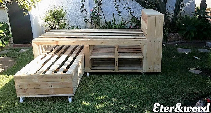 recycled pallets bed plan 1