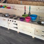 Repurposed Wood Pallets Mud Kitchen For Kids