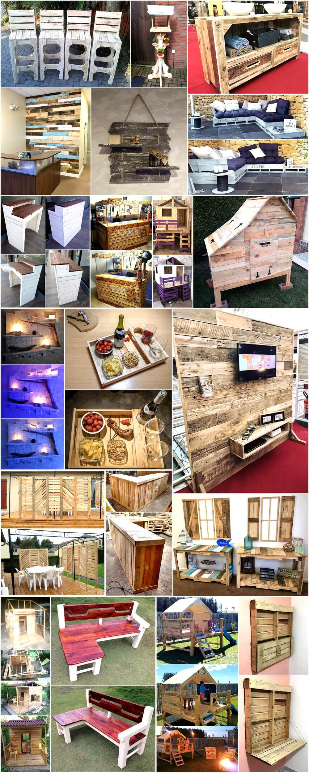Find These Interesting Ideas For Pallets Recycling
