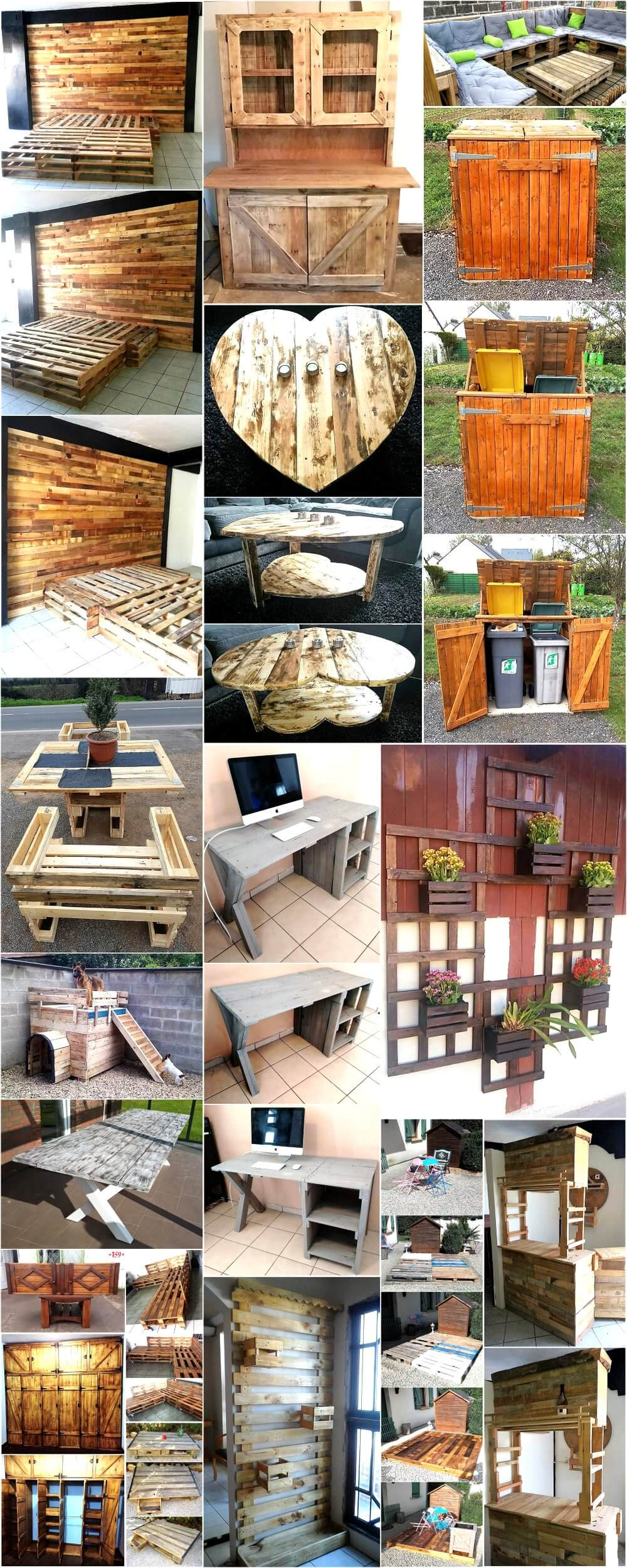shipping pallet furniture ideas. Repurposing Ideas For Shipping Wood Pallets Pallet Furniture A