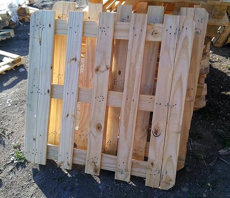 diy wood pallets garden bar table