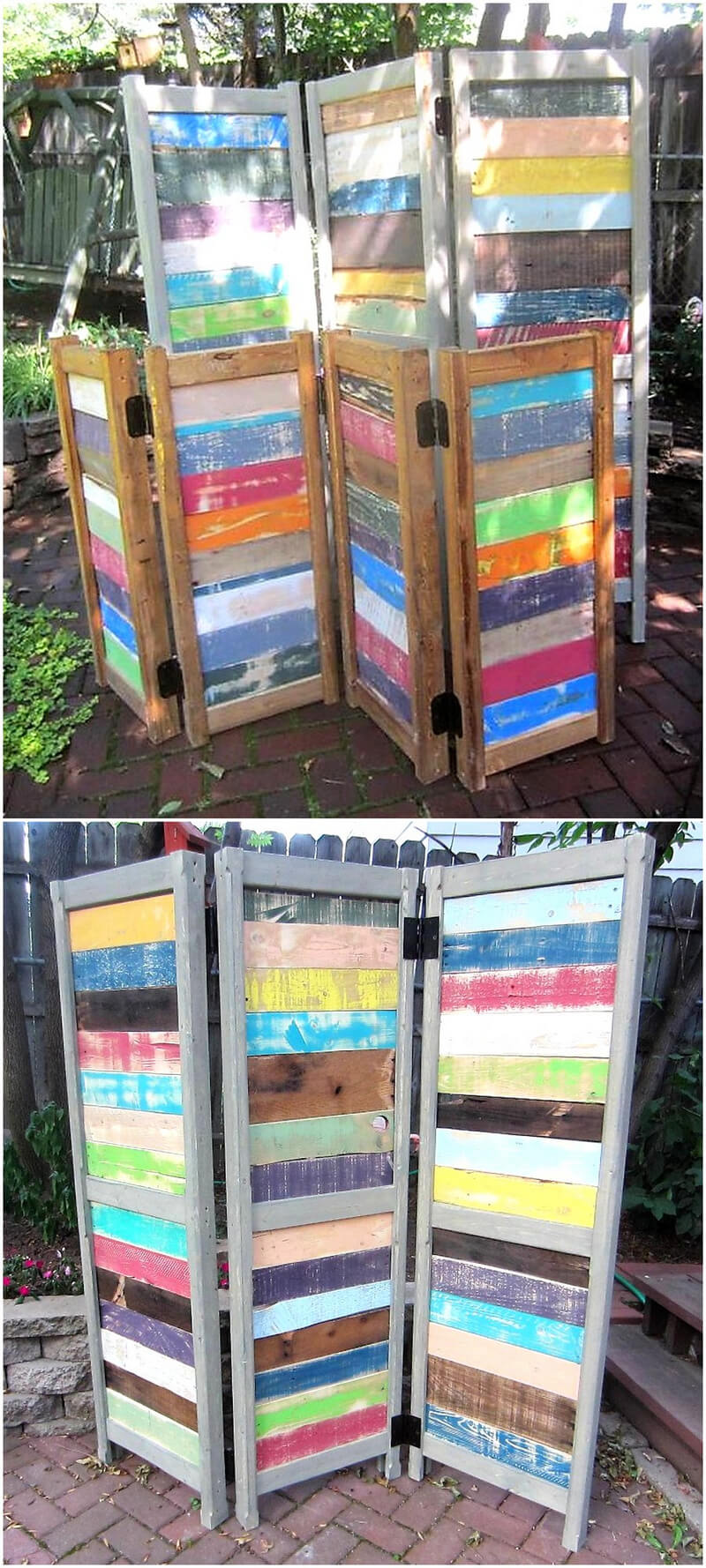 pallet space dividers