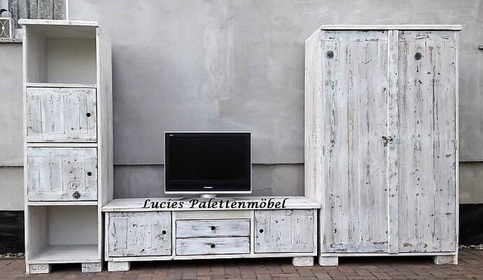 pallet wardrobe cabinet