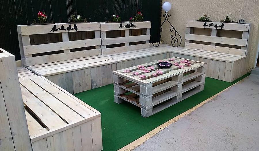 pallets wooden patoi lounge 3