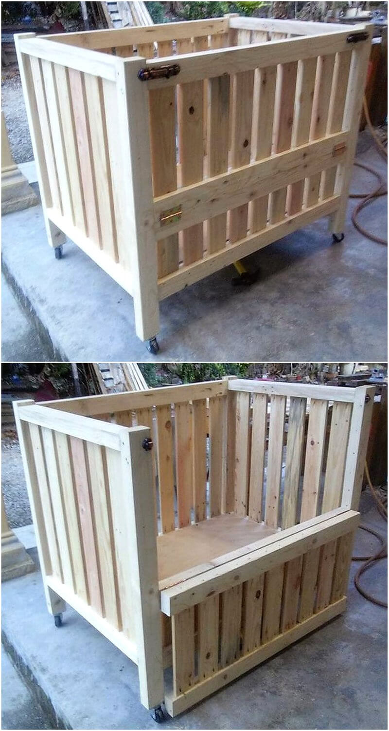 wooden pallests toddler bed