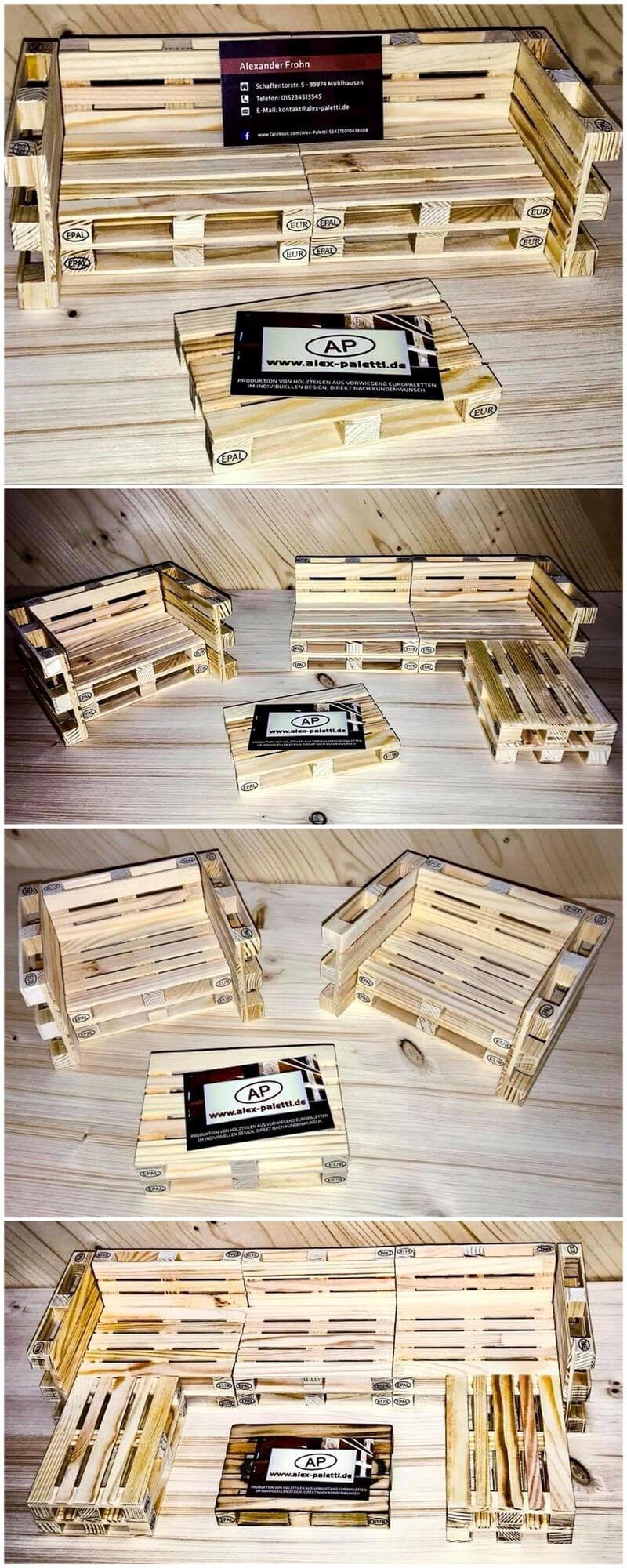 Creative Pallets Wooden Furniture Idea