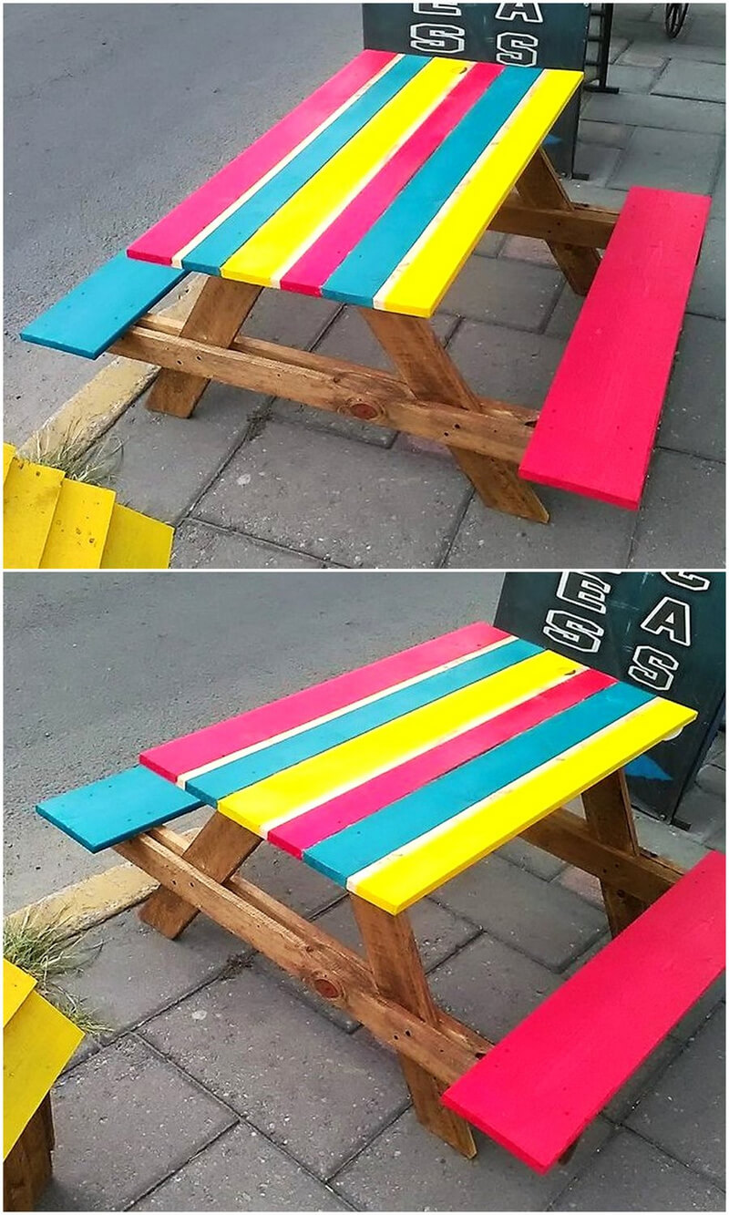 kids furniture out of pallets