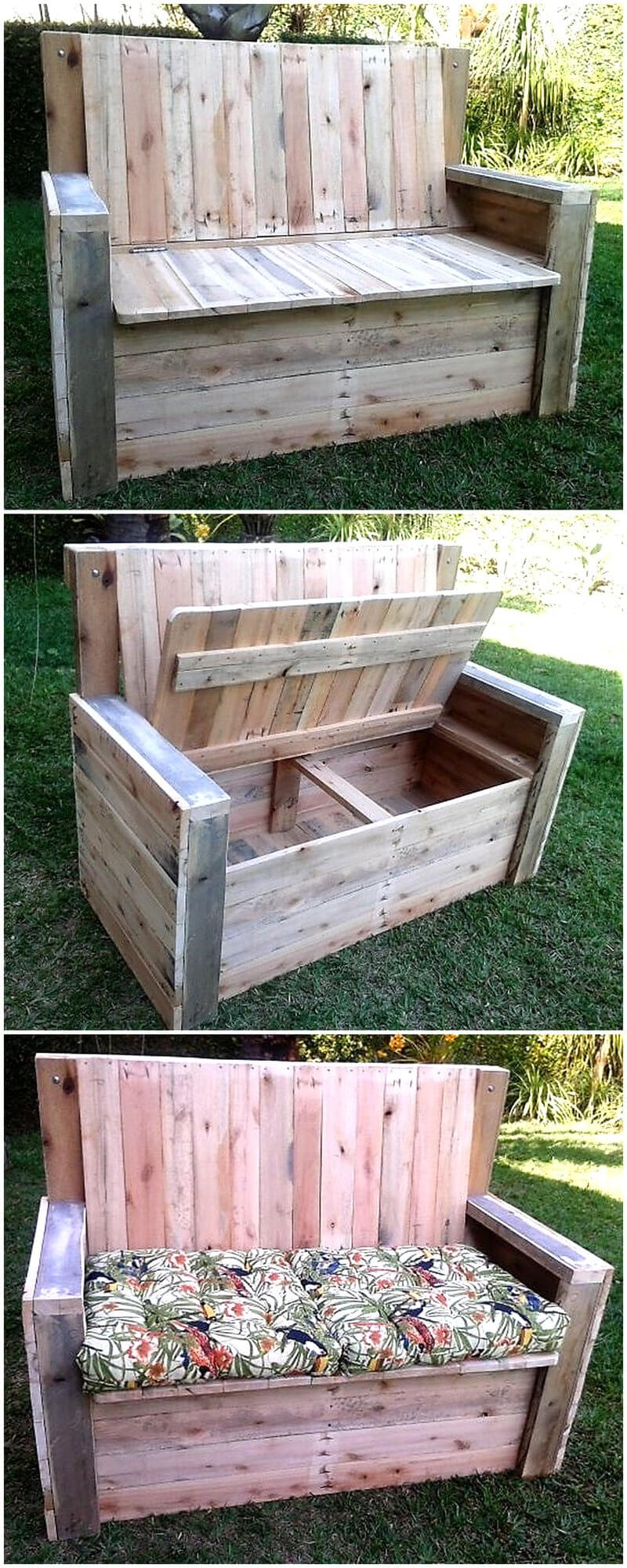 Great Ideas For Reusing or Recycling Wood Pallets | Wood ...