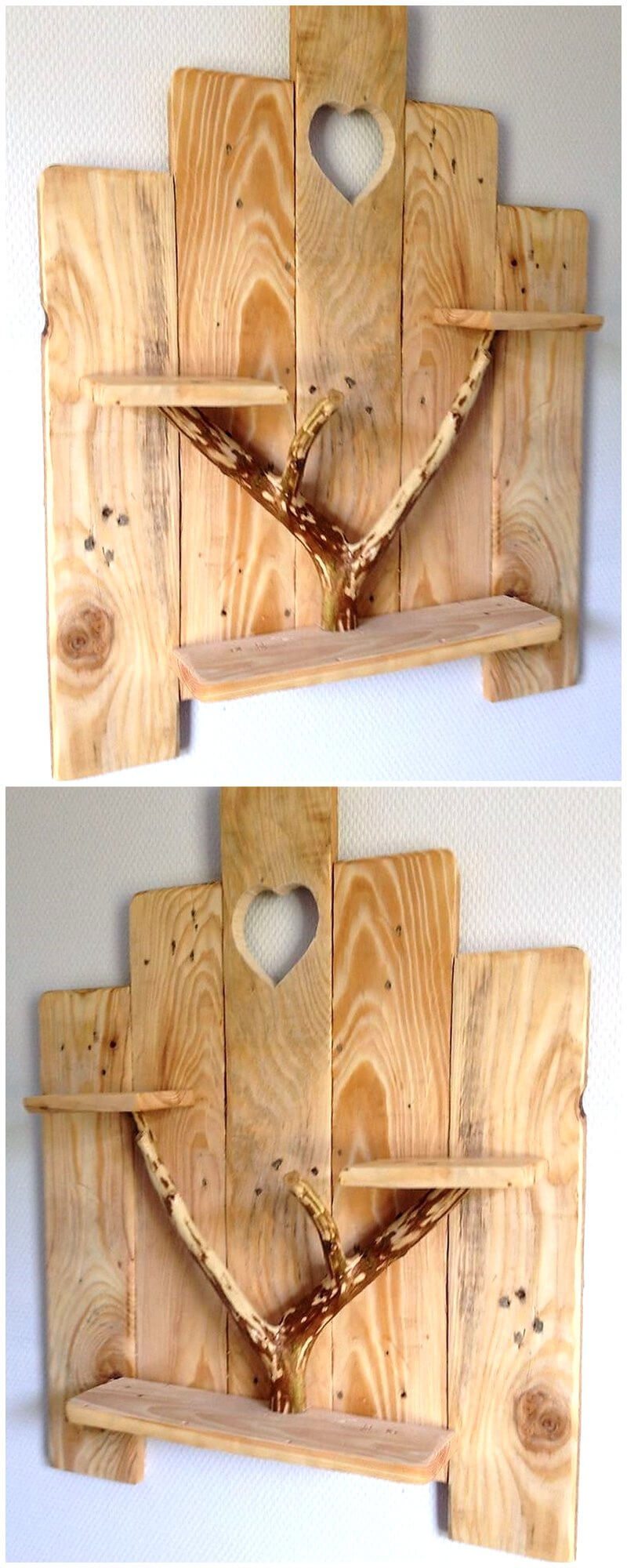 pallet shelf art