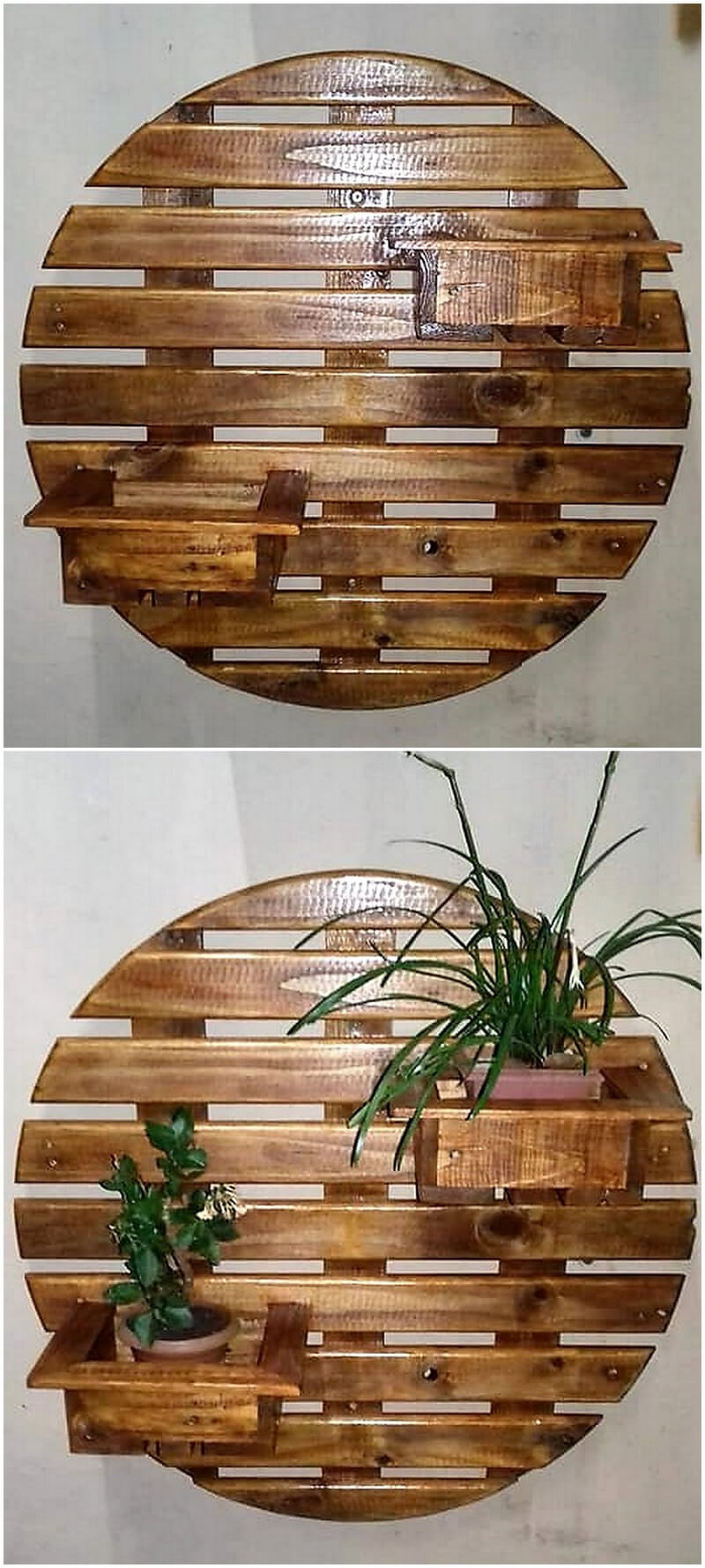 pallet wall planters designs 2