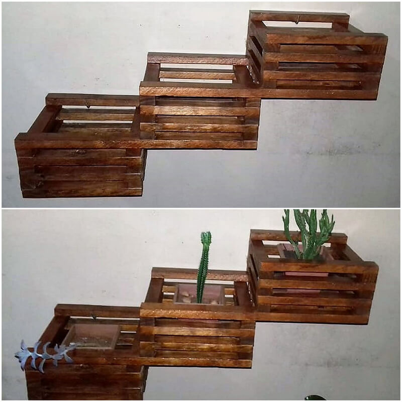 pallet wall planters designs 4