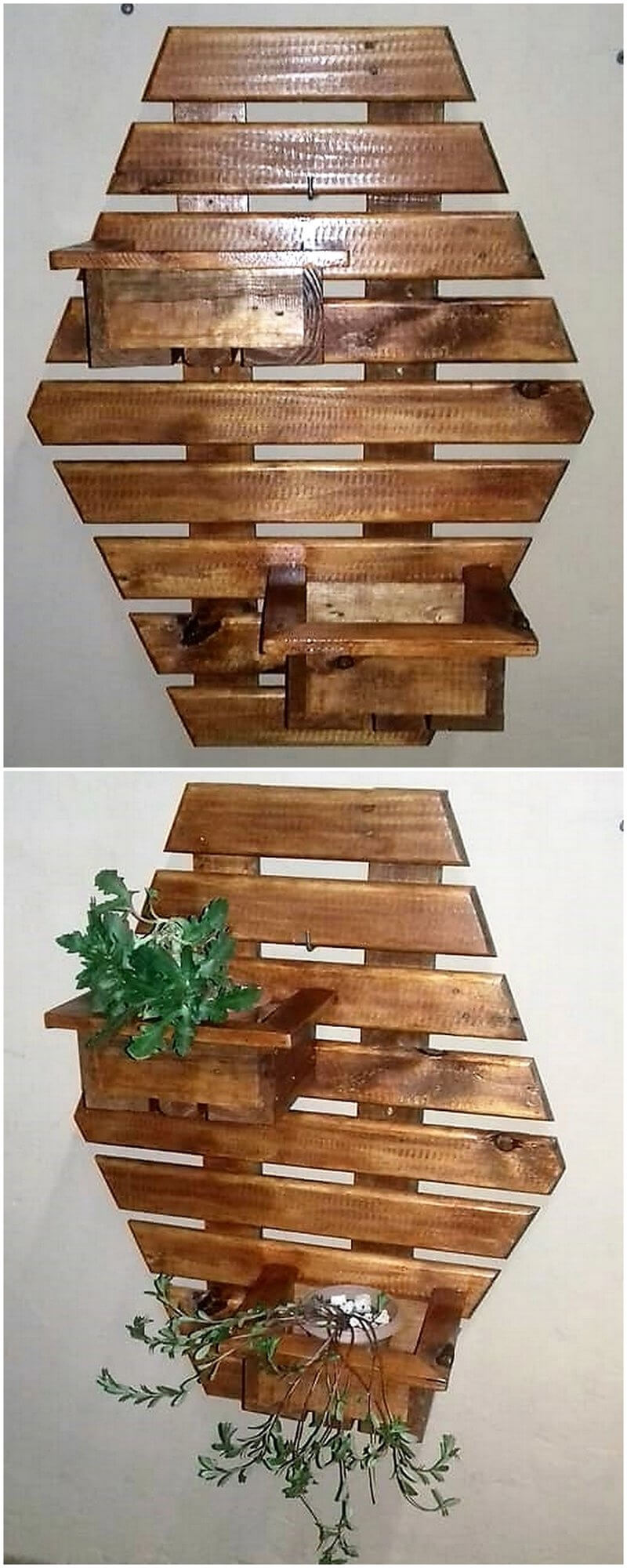 Great Ideas For Reusing Or Recycling Wood Pallets Wood Pallet  # Walter Hugo Muebles