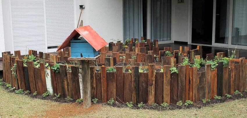 pallets raised garden plan