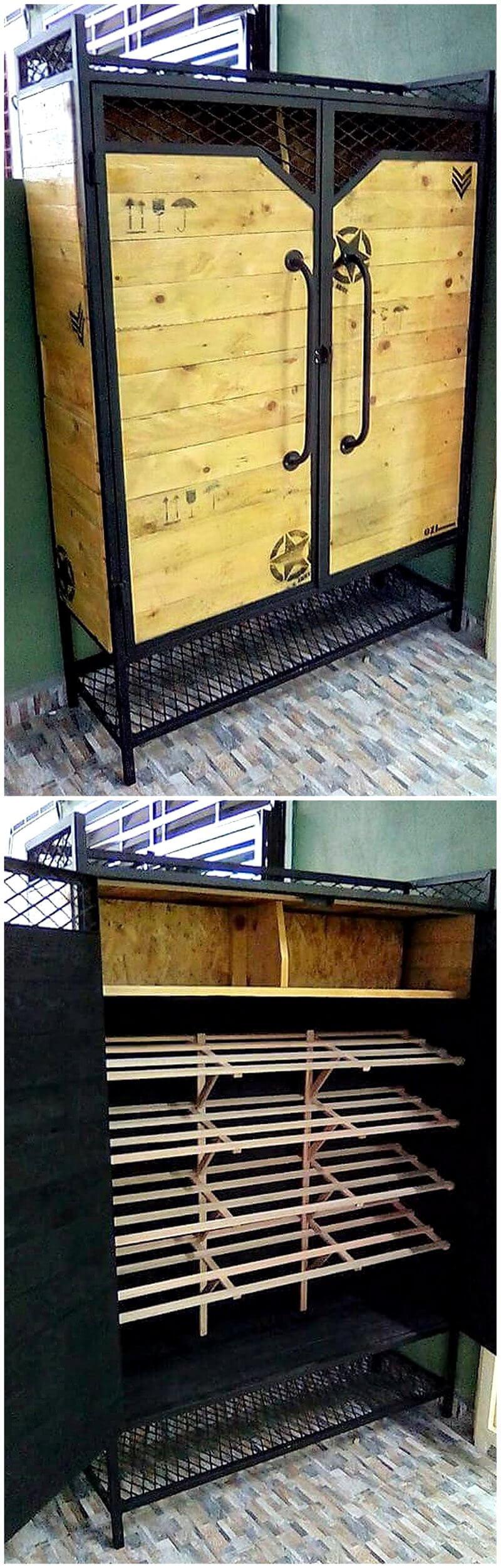 pallets storage idea