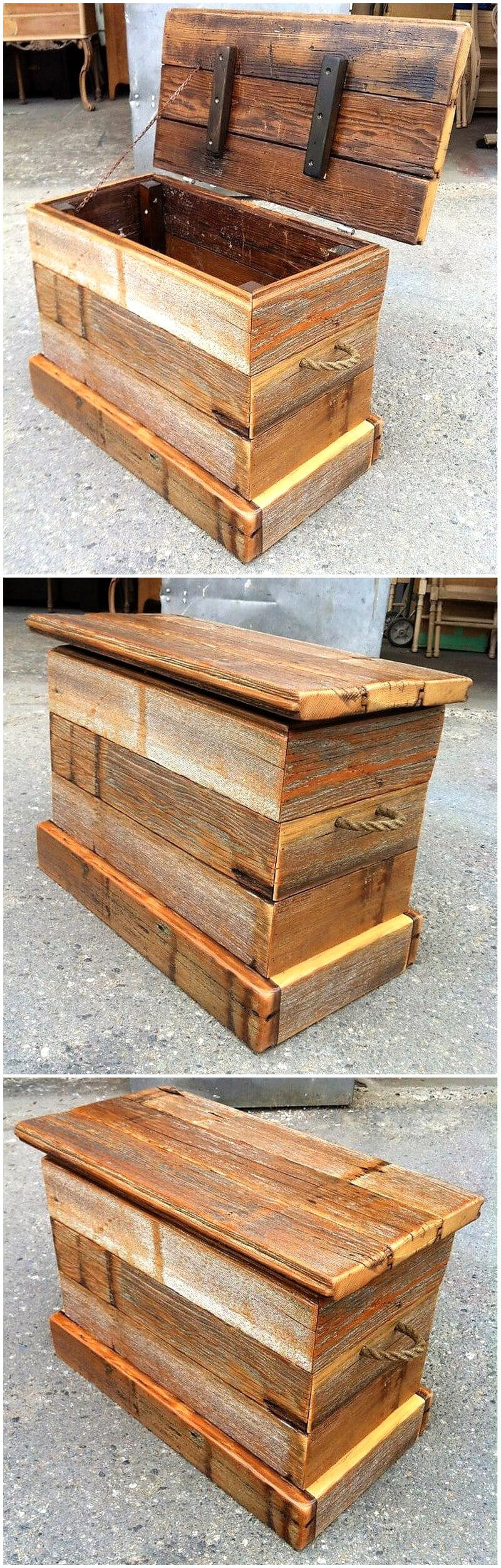 Great Ideas For Reusing or Recycling Wood Pallets