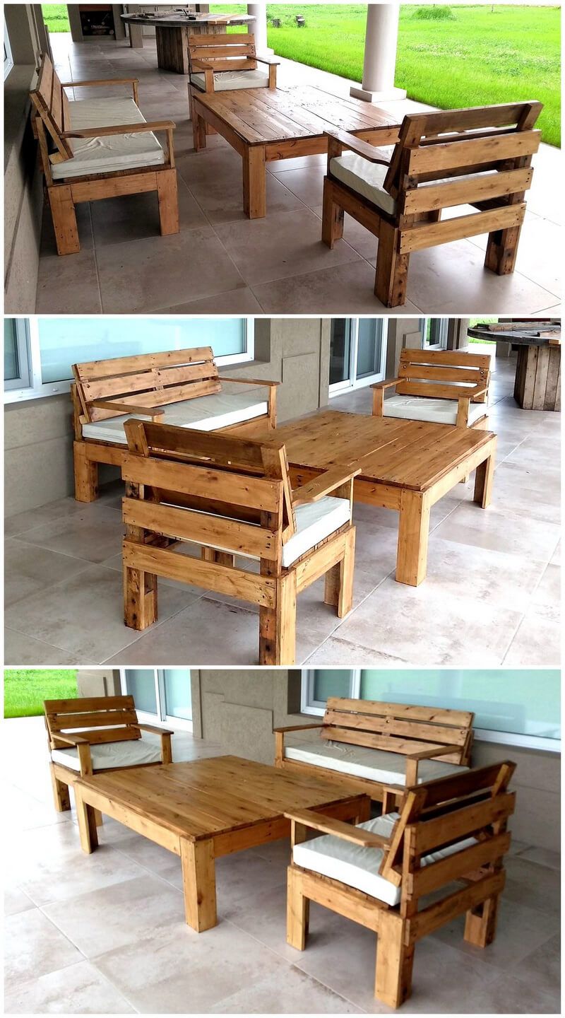 simple furniture out of pallets