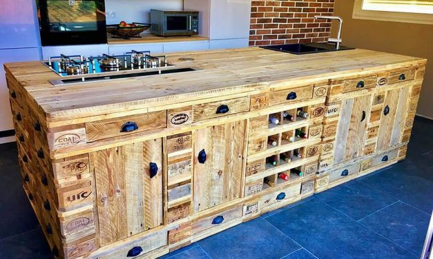 kitchen cabinets made from pallets pallet kitchen cabinet wood pallet furniture 20757
