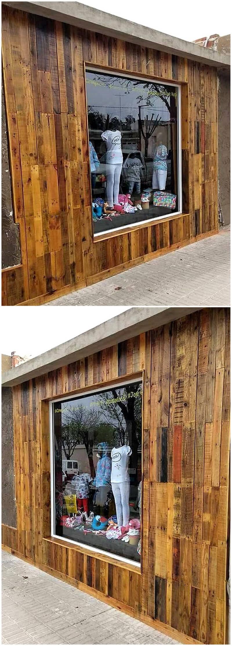 wood pallet patio wall decor art