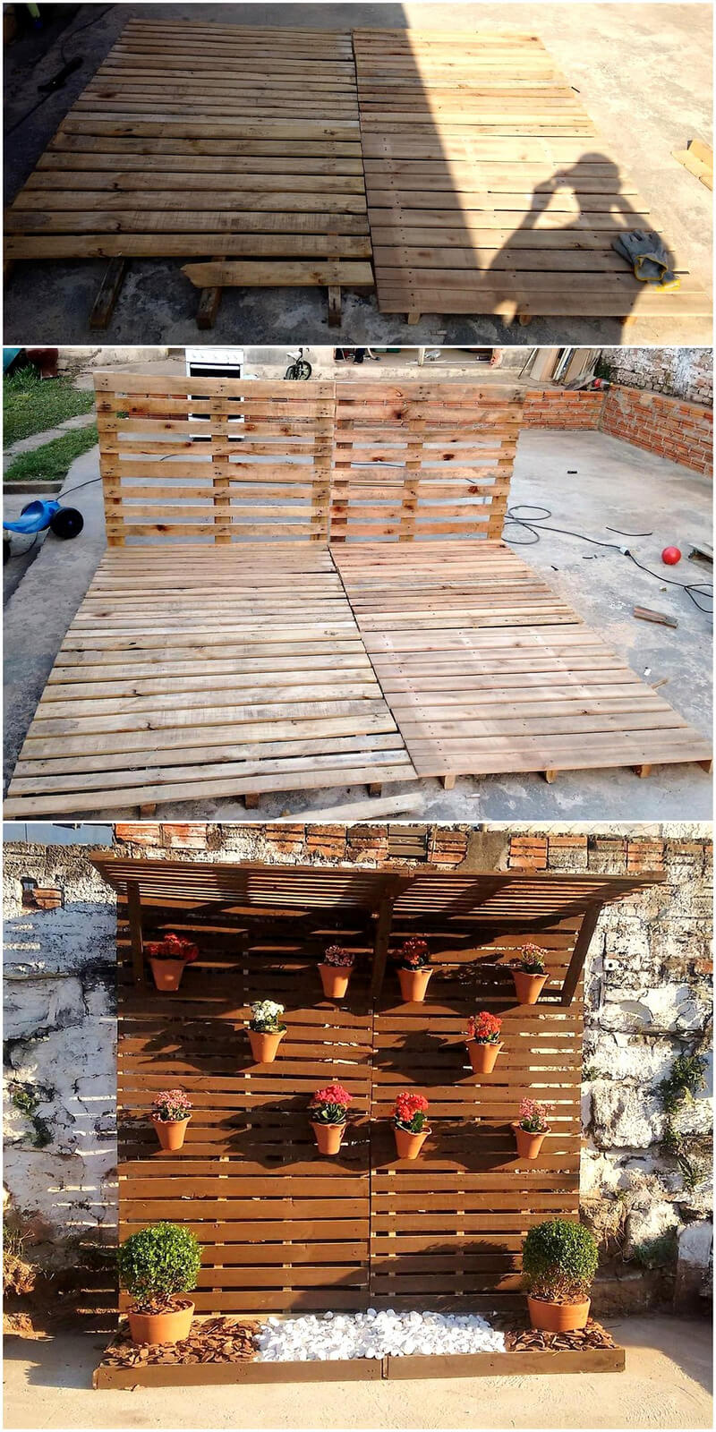 Diy Ideas For Recycled Pallets Reusing Wood Pallet Furniture