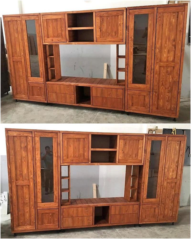 pallet cupboard plan