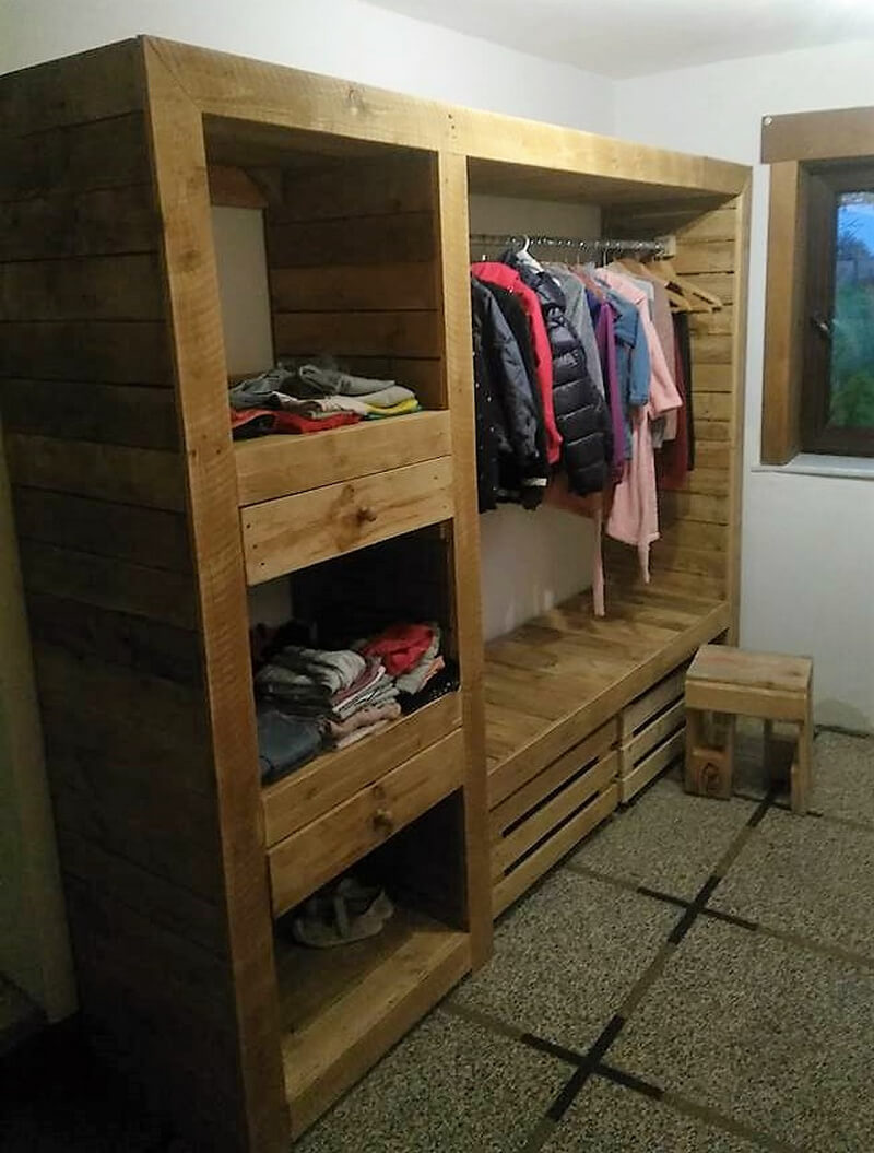 Diy Ideas For Recycled Pallets Reusing Wood Pallet Furniture # Wooden Art Meuble Tv