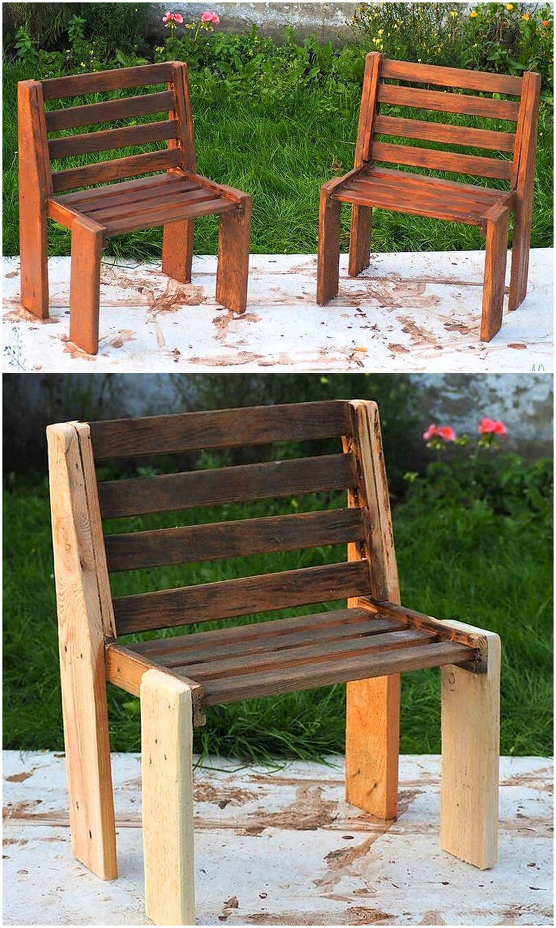 pallet patio chairs