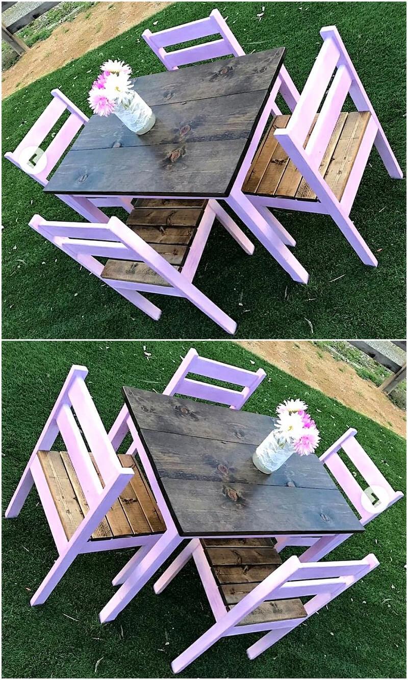 pallets garden furniture