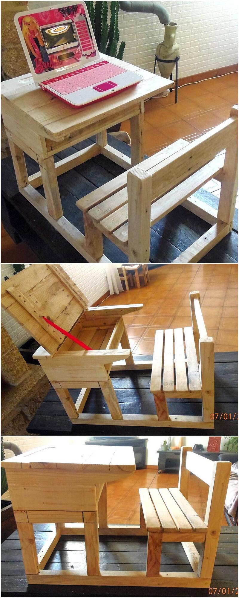 pallets kitchen study furniture