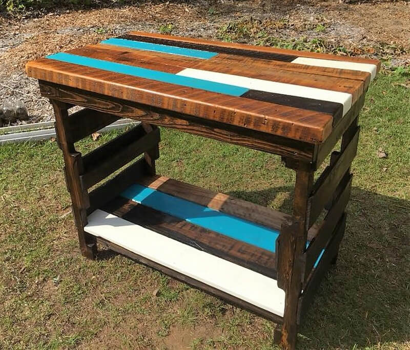 Pallet Kitchen Chairs: Creative & Rustic Pallet Kitchen Island