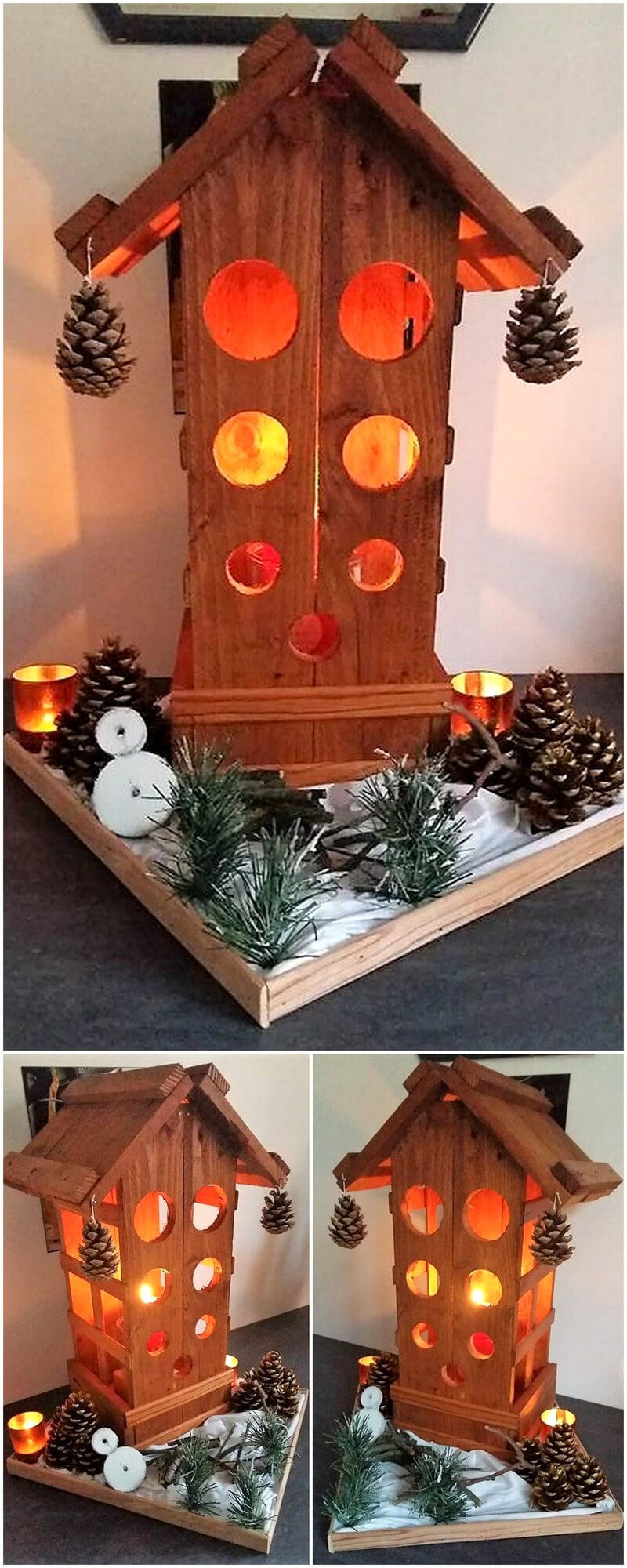 wood pallet decor art craft