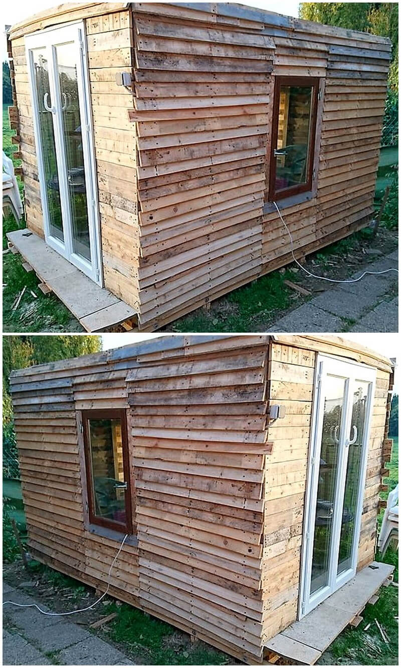 Repurposed Wood Pallet Diy Ideas Wood Pallet Furniture # Muebles Para Roof Garden