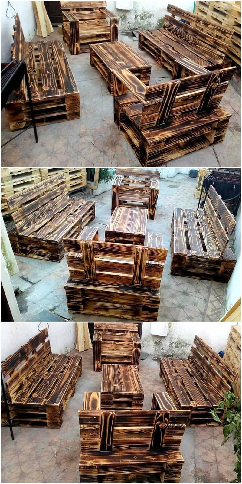 pallet barn wood furniture