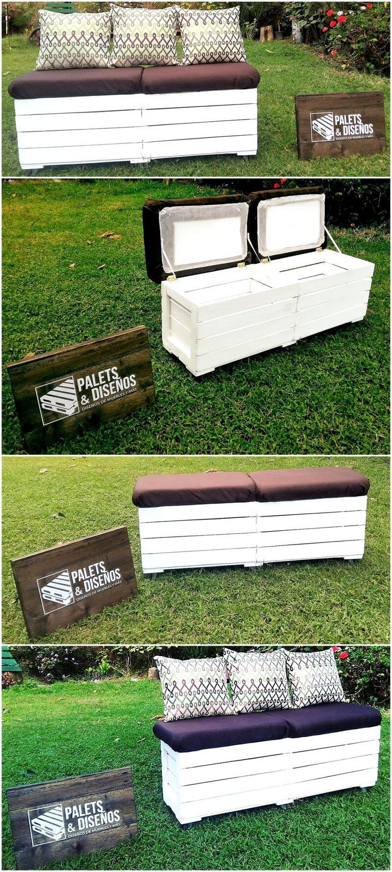 Creative Ideas To Reuse Wasted Shipping Wood Pallets Wood Pallet  # Muebles Mundo Box