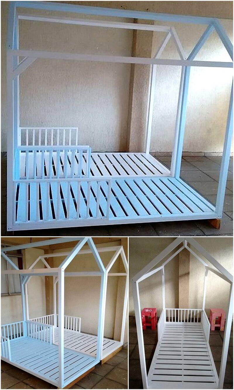 pallet twin bed idea