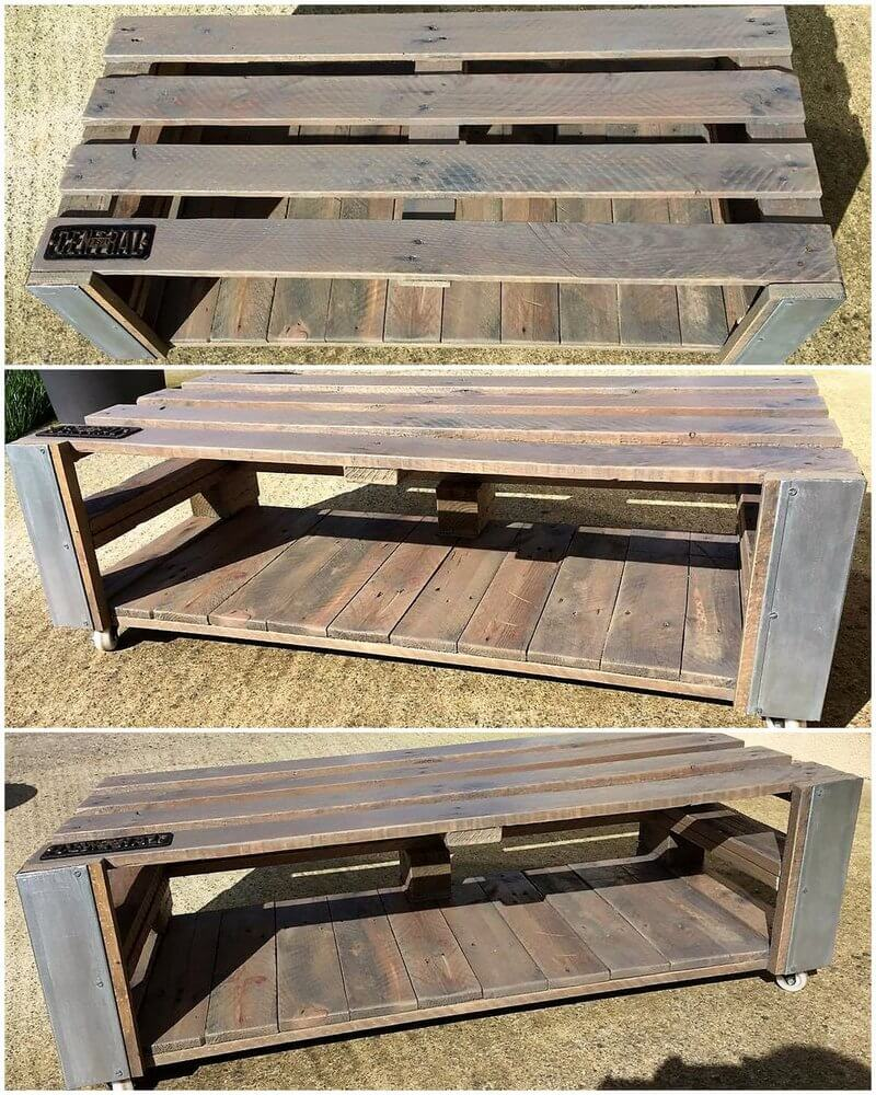 simple pallet table