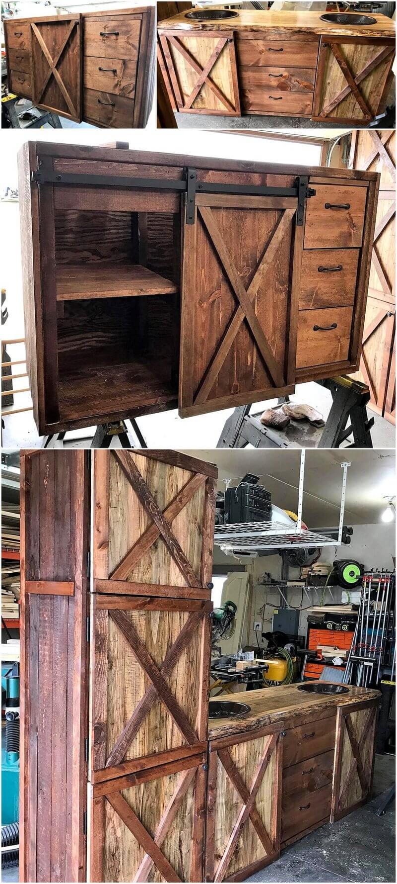 wood pallet kitchen furniture