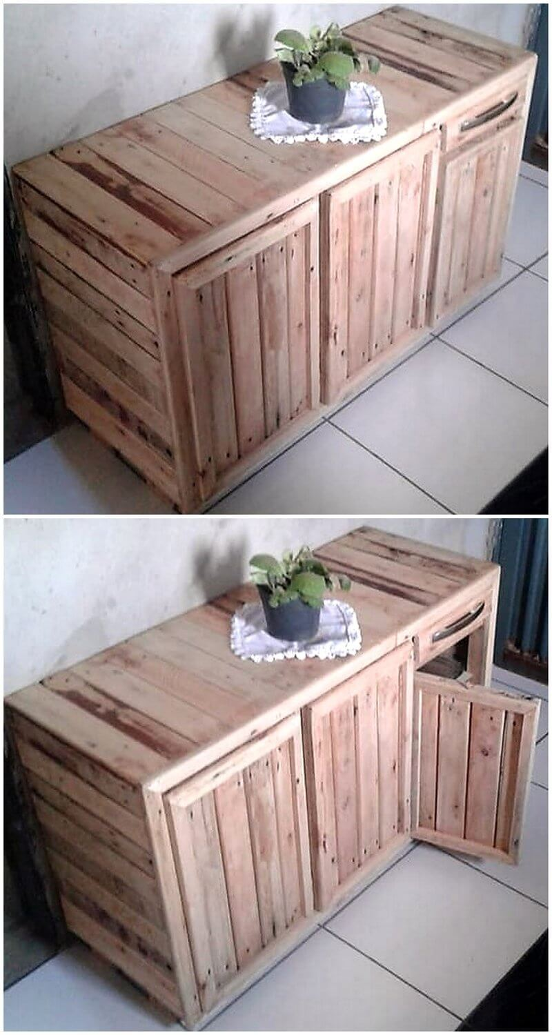 pallet enterance way table