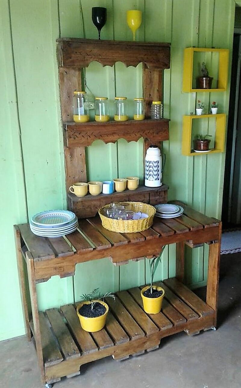 pallet kitchen racking