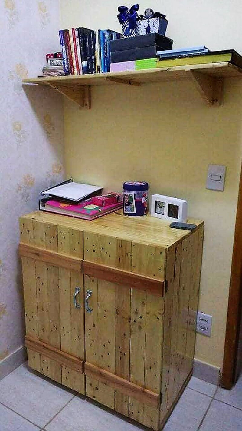 Clever Upcycling Ideas For Used Shipping Pallets Wood Pallet  # Buffet Palette