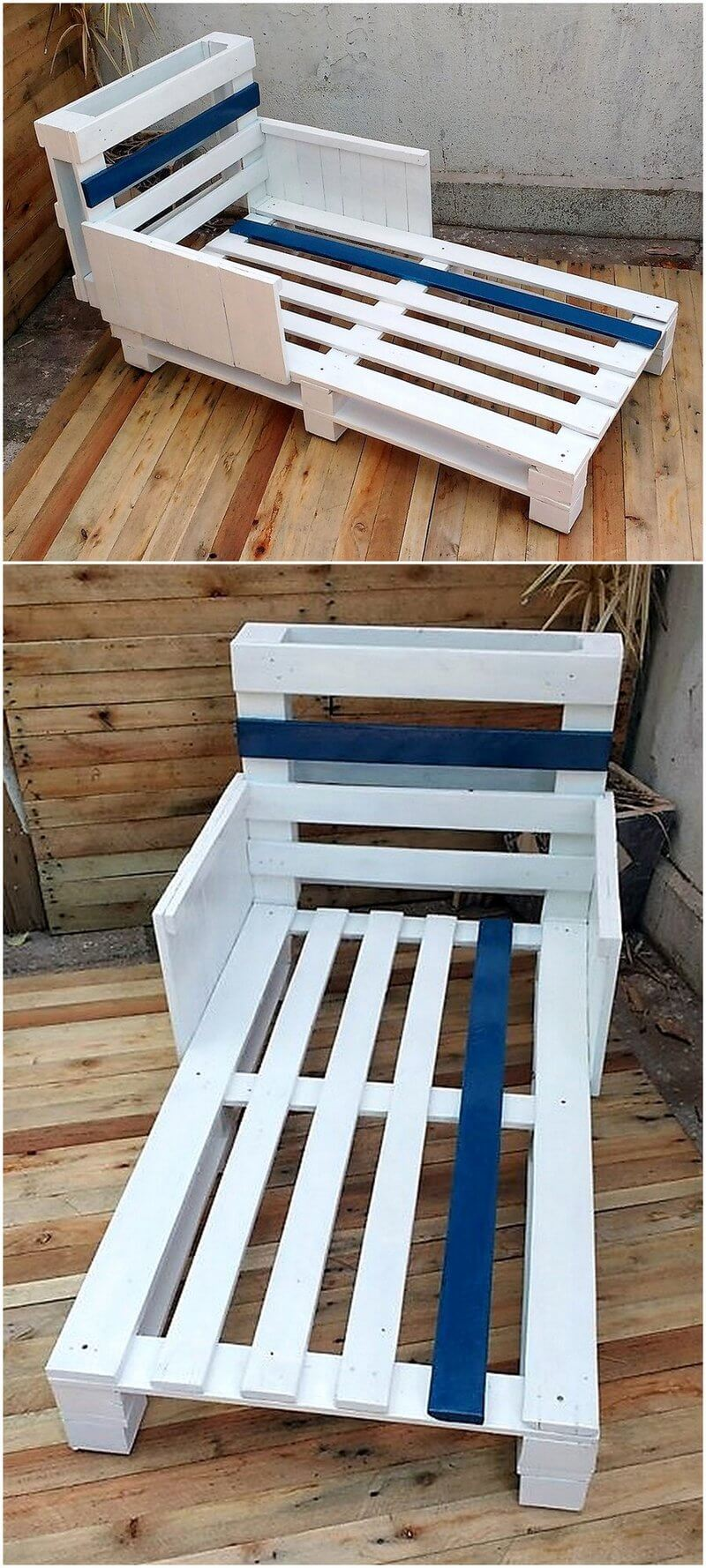 pallet toddler bed plan