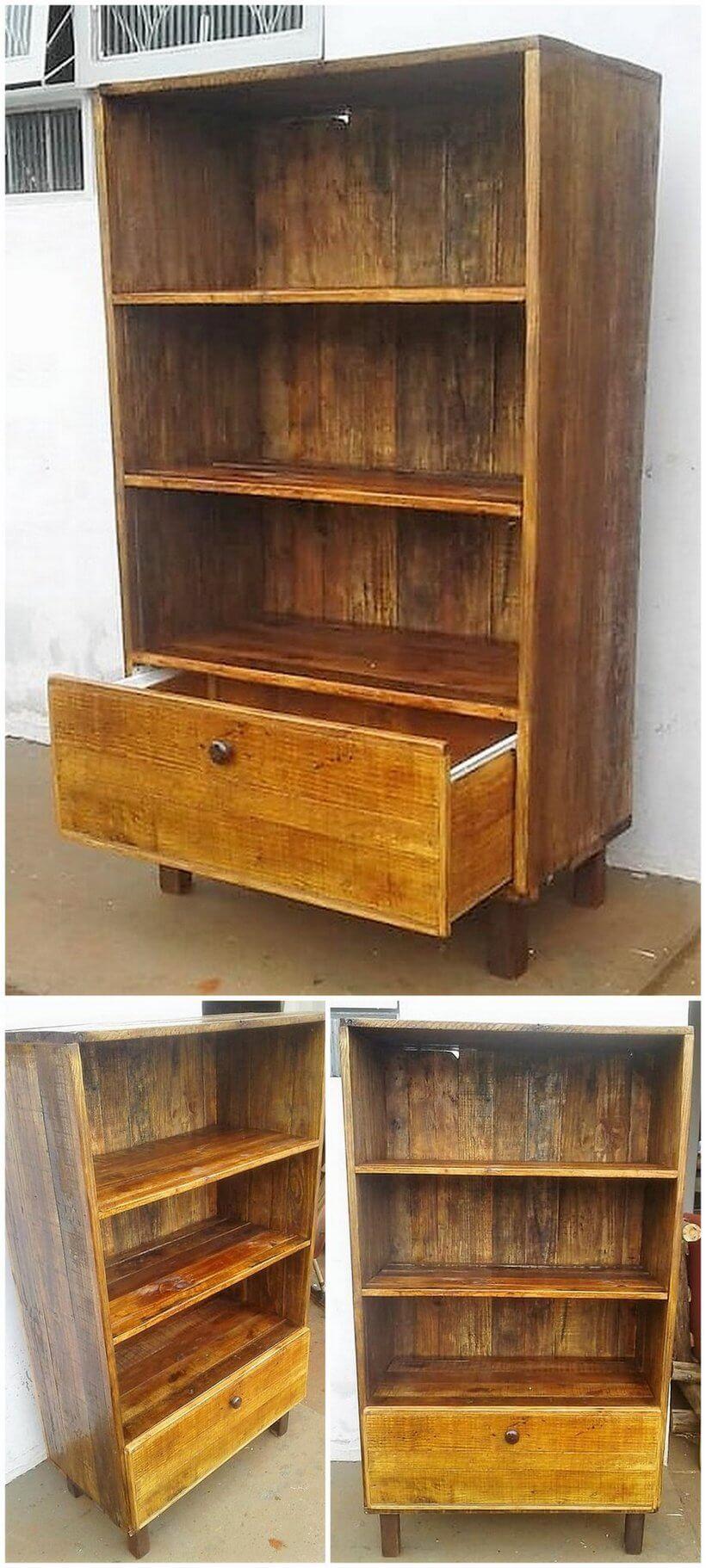 pallets shelving cabinet