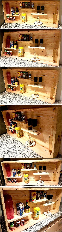 small shelf for kitchen