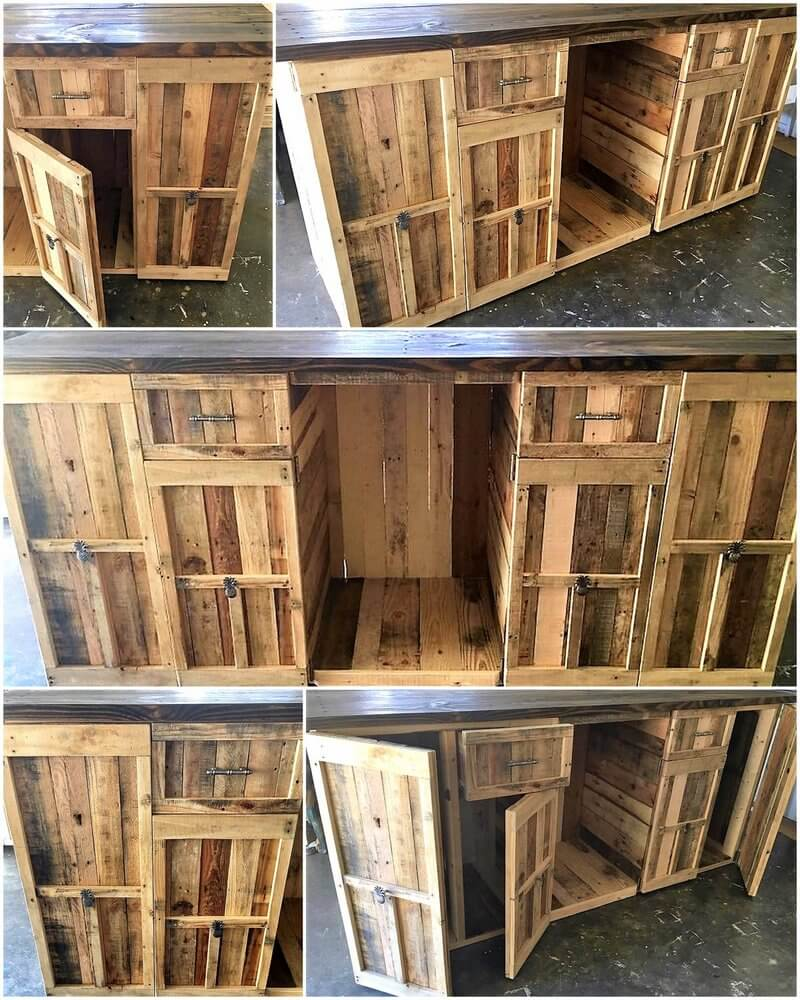 wood pallet kitchen island plan