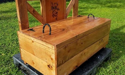 Repurposed Pallets Wooden Bench Chest