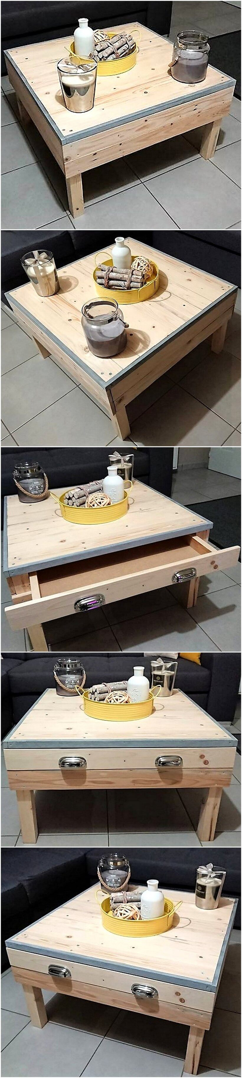 creative pallet coffee table 6