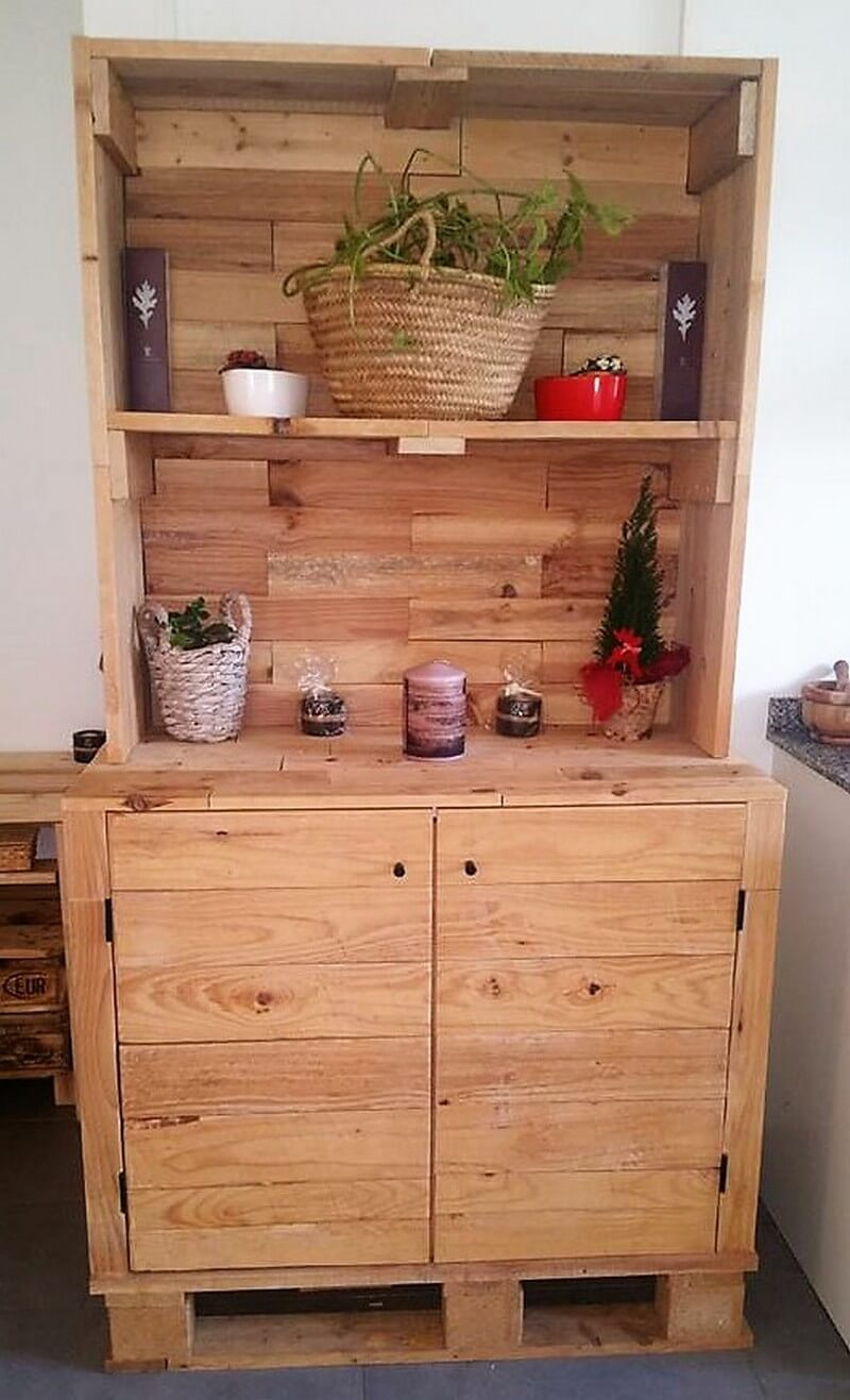 pallet cupboard project